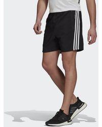 adidas Short Sportswear Woven 3-Stripes - Nero