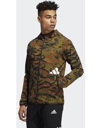 adidas FreeLift Camouflage Training Kapuzenjacke - Grün