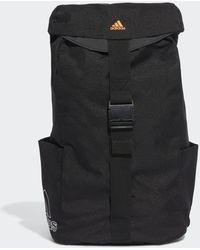 adidas Standards Flap Backpack - Black