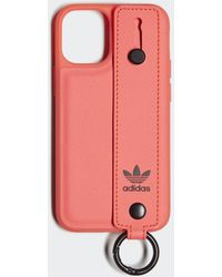 adidas Molded Hand Strap Iphone Case 2020 5.4 Inch - Roze