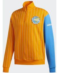 adidas Fa Blocked Sweatshirt - Oranje