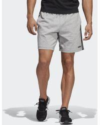 adidas Essentials 3-stripes Short - Grijs