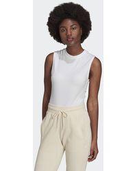adidas Body Adicolor Single Jersey - Blanc