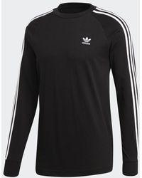 adidas Originals 3-Stripes T-Shirt - Schwarz