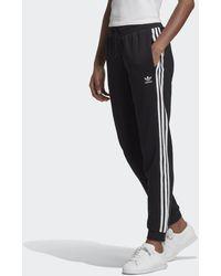 adidas Slim-fit Cuffed Broek - Zwart