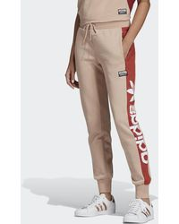 adidas Pantaloni Cuffed - Arancione