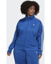 adidas Adicolor Classics Firebird Primeblue Trainingsjack (grote Maat) - Blauw
