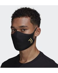 adidas Face Covers 3-Pack M/L Juventus - Nero