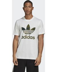 adidas Camiseta Camouflage - Blanco
