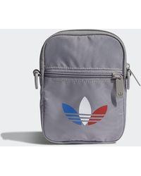 adidas Adicolor Tricolor Festival Bag - Grey