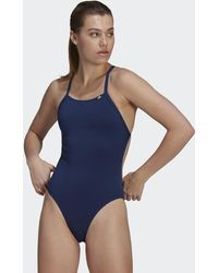 adidas Sports Performance Solid Swimsuit - Blue