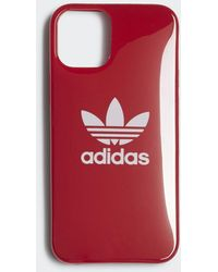 adidas Molded Snap Case Iphone 2020 5.4 Inch - Rood