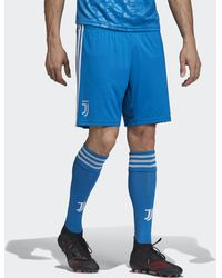 adidas Juventus Derde Short - Blauw