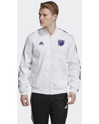 adidas Giacca Anthem MLS All-Star - Bianco