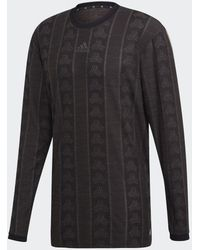 adidas Tan Advanced Voetbalshirt - Zwart