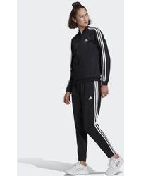 adidas Essentials 3-stripes Trainingspak - Zwart