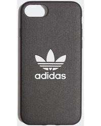 adidas Basic Logo iPhone 8 Schutzhülle - Schwarz