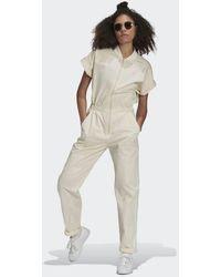 adidas No-dye Jumpsuit - White