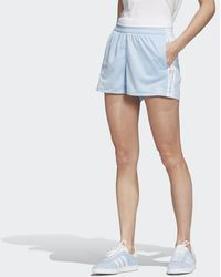 adidas 3-stripes Short - Blauw