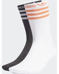 adidas Crew Socken, 2 Paar - Schwarz