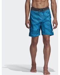 adidas Primeblue Clx Short - Blauw