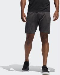adidas Pantalón corto Primeknit 8-Inch 3 bandas - Negro