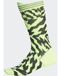 adidas Calcetines Alphaskin Construction Tape - Verde