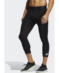 adidas - Techfit 3/4 Tights - Lyst