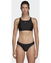 adidas 3-Streifen Bikini - Schwarz