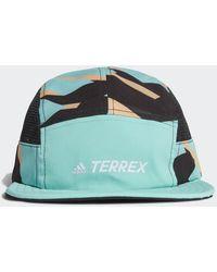 adidas TERREX Primegreen AEROREADY Graphic Five-Panel Kappe - Grün