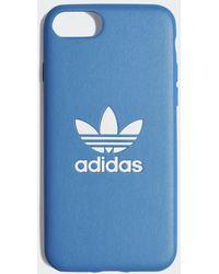 adidas Basic Logo iPhone 8 Schutzhülle - Blau