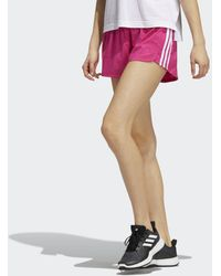 adidas - Short Pacer 3-Stripes Woven - Lyst