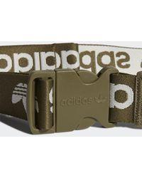 adidas Adicolor Branded Webbing Heuptas - Groen