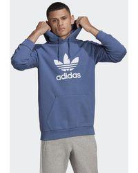 adidas Trefoil Hoodie - Blauw