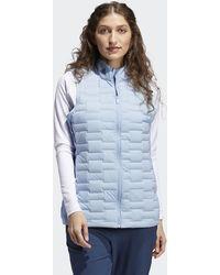 adidas Frostguard Full-zip Vest - Blue