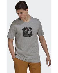 adidas Camiseta Five Ten Glory - Gris