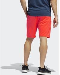 adidas 4KRFT Shorts - Rot