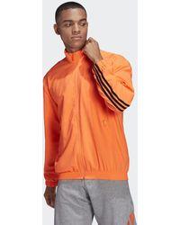 adidas Sportswear 3-stripes Geweven Trainingsjack - Oranje