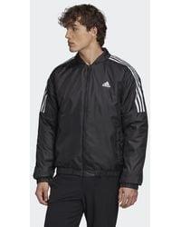 adidas Essentials Insulated Bomber Jacket - Black