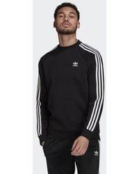 adidas Adicolor Classics 3-stripes Crew Sweatshirt - Black