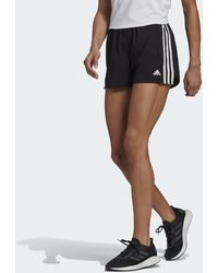 adidas Primeblue Designed 2 Move Geweven 3-stripes Sportshort - Zwart