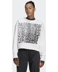 adidas Graphic Sweatshirt - Weiß