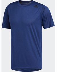 adidas Freelift Tech Climalite Fitted Tee - Blue