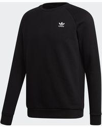 adidas - Essential Sweatshirt - Lyst