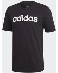 adidas - Essentials Linear Logo T-Shirt - Lyst