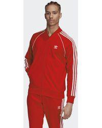 adidas Adicolor Classics Primeblue Sst Trainingsjack - Rood