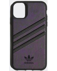 adidas Samba Molded Case Iphone 11 - Zwart