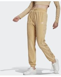 adidas Loungewear Slim Joggingbroek - Naturel