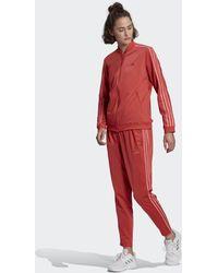 adidas Essentials 3-stripes Trainingspak - Rood