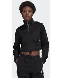 adidas Quarter-zip Sweatshirt - Zwart